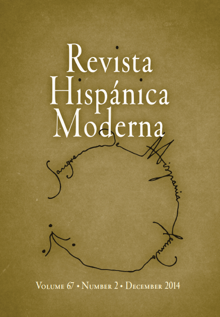 Revista Hispánica Moderna December 2020 Volume 73